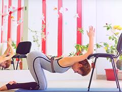 Мягкая ГЛУБОКАЯ РАСТЯЖКА. Упражнения для верхней части спины и плеч. Улучшаем осанку